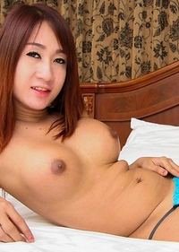 Cute Asian T-Girl Ood