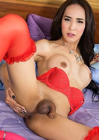 Cute Asian T-Girl Nita