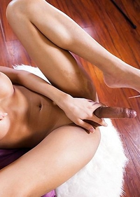 nn is a sexy petite Bangkok girl with a smoking hot body, nice tits and a sexy uncut cock!