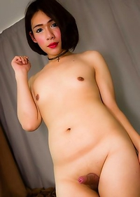 Cute Asian T-Girl Sammy