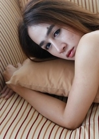 Teen Thailand tgirl Four gets fucked by strangers white dick