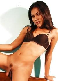 Cute Asian T-Girl Jane