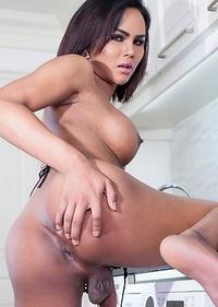 Cute Asian T-Girl Abby