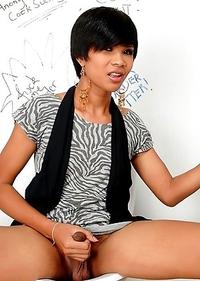 Cute Asian T-Girl Pim