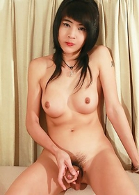 Cute Asian T-Girl Jenny