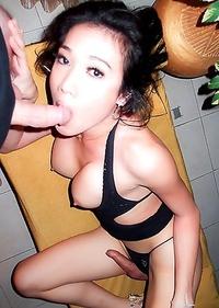 Pattaya Ladyboy May loves blowjobs and hard bareback sex