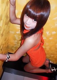 Cute Asian T-Girl Cherry