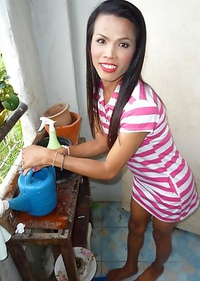 Cute Asian T-Girl Noi