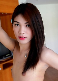 Cute Asian T-Girl Spor