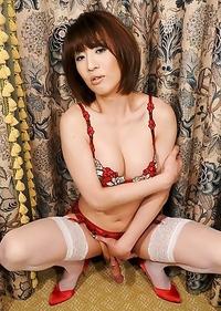 Cute Asian T-Girl Yuuki Tominaga
