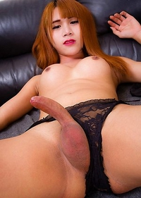Sexy Phon has a hot tight body, big tits, a gorgeous ass and a rock hard cock!